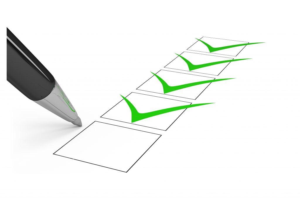 Checklista för CV