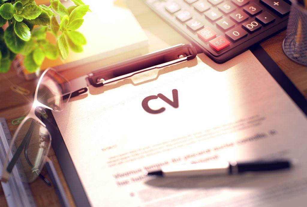 CV på engelska