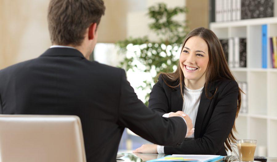 Följ upp jobbintervju