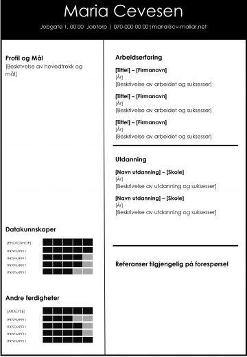 Design CV mal